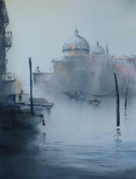 Aquarell Venedig Angelika Sobek-Kistner