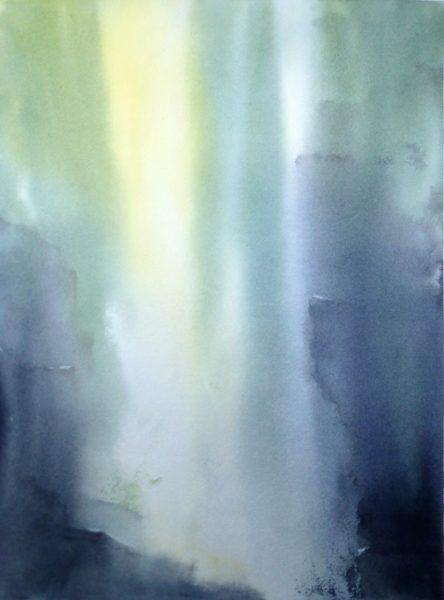 Aquarell Klamm Licht Angelika Sobek-Kistner