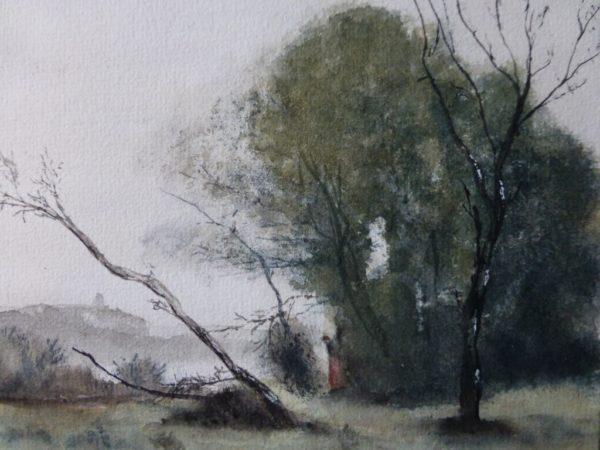 Kopie Ölgemälde J.-B.-Corot, The Bent Tree