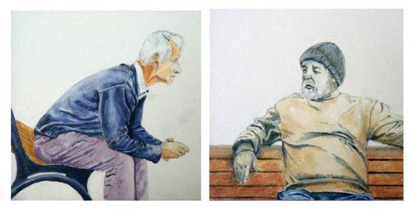 Portraits Cypriots, Angelika Sobek-Kistner