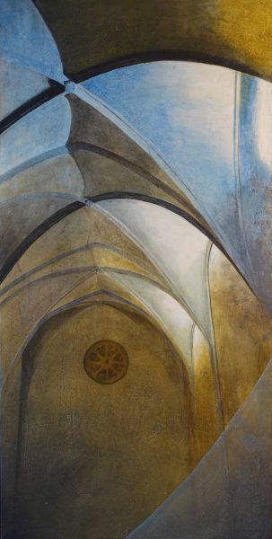 Bellapais Monastry, Painting, Angelika Sobek-Kistner