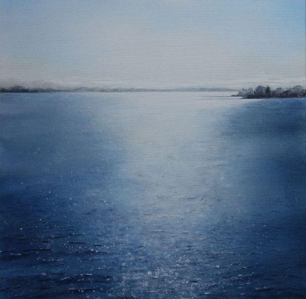 glitzerndes Wasser Gemälde